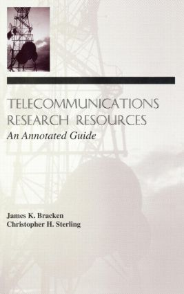 Telecommunications Research Resources: An Annotated Guide (Hardback) book cover