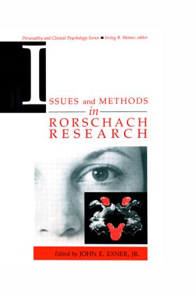 Issues and Methods in Rorschach Research (Hardback) book cover