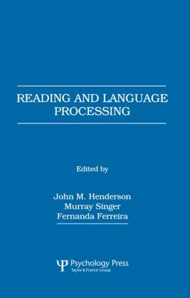 Reading and Language Processing (Paperback) book cover