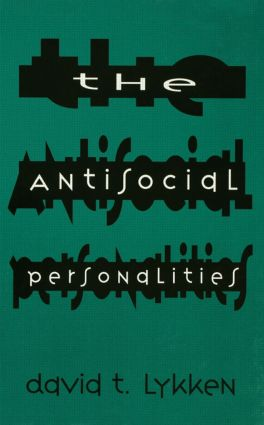 The Antisocial Personalities: 1st Edition (Paperback) book cover