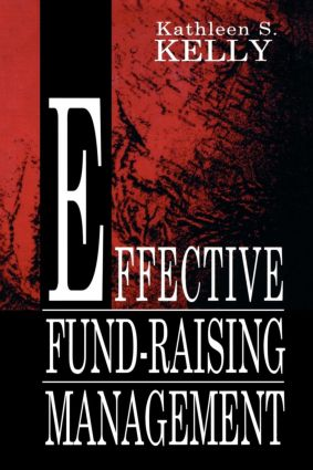 Effective Fund-Raising Management book cover