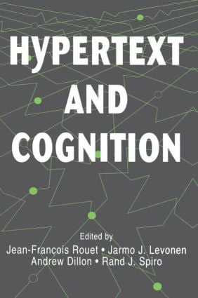 Hypertext and Cognition (Paperback) book cover