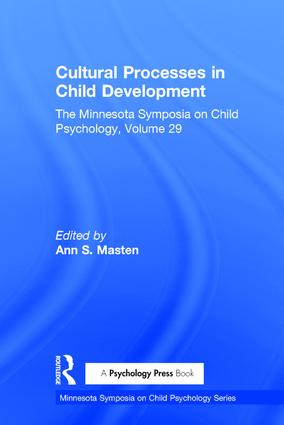 Cultural Processes in Child Development: The Minnesota Symposia on Child Psychology, Volume 29 (Hardback) book cover
