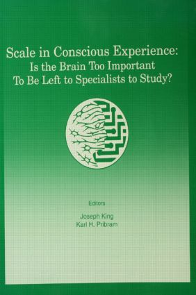 Scale in Conscious Experience: Is the Brain Too Important To Be Left To Specialists To Study? (Paperback) book cover