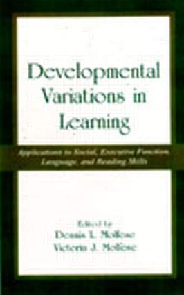 Developmental Variations in Learning: Applications to Social, Executive Function, Language, and Reading Skills (Hardback) book cover