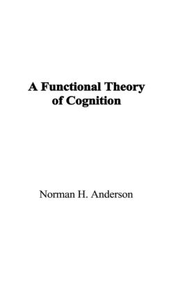 A Functional Theory of Cognition (Hardback) book cover