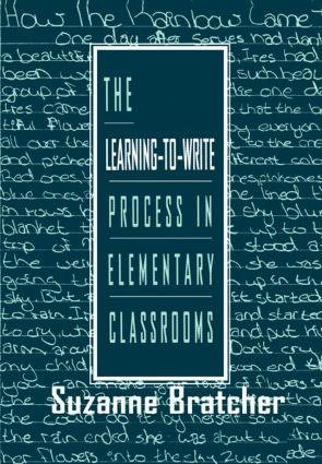 The Learning-to-write Process in Elementary Classrooms: 1st Edition (Paperback) book cover