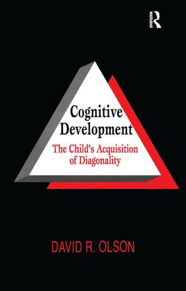 Cognitive Development: The Child's Acquisition of Diagonality (Paperback) book cover