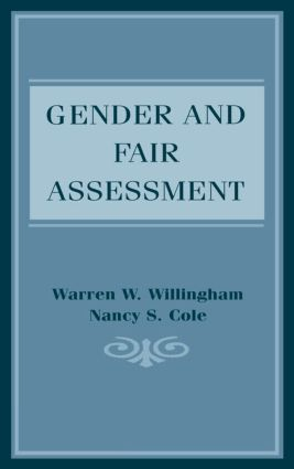 Gender and Fair Assessment: 1st Edition (Paperback) book cover