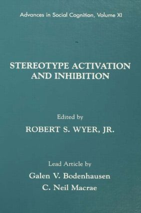 Stereotype Activation and Inhibition