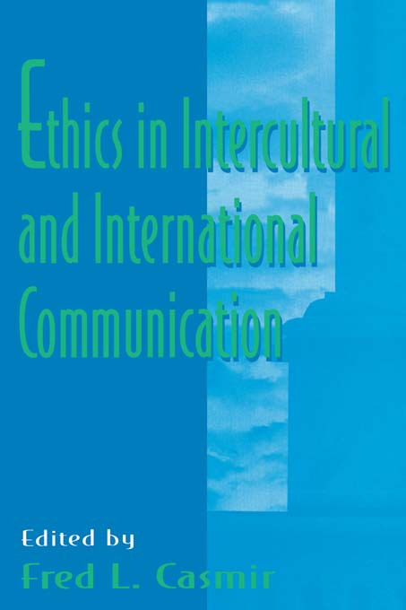 Ethics in intercultural and international Communication (Paperback) book cover