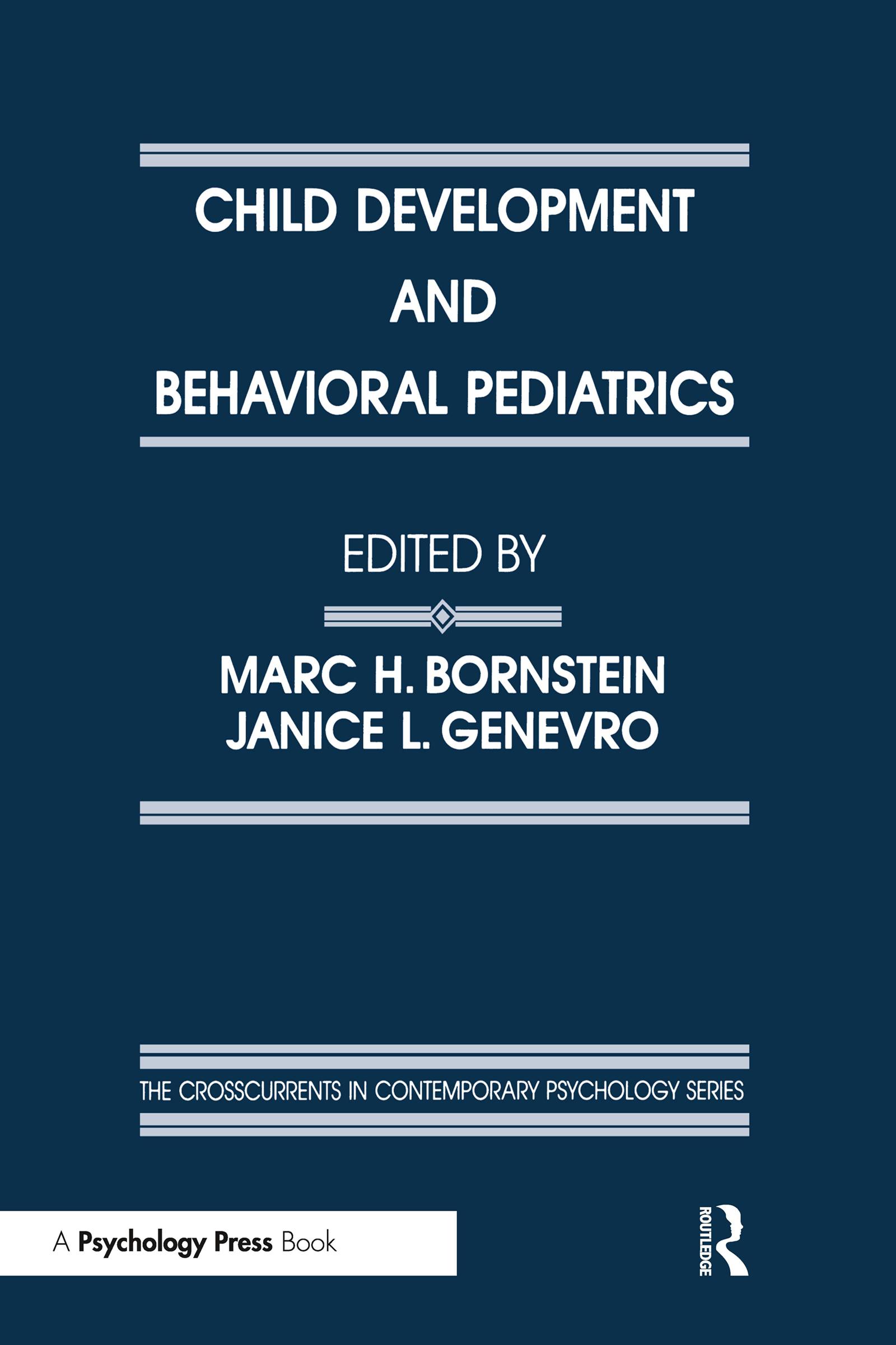 Child Development and Behavioral Pediatrics (Hardback) book cover