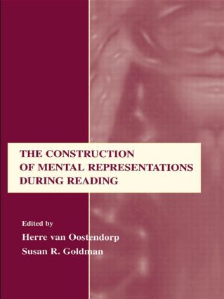 The Construction of Mental Representations During Reading: 1st Edition (Paperback) book cover