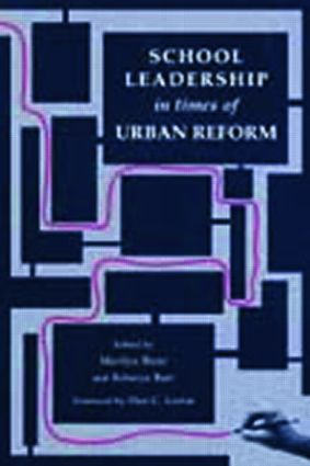 School Leadership in Times of Urban Reform: 1st Edition (Paperback) book cover