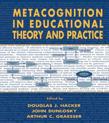 Metacognition in Educational Theory and Practice book cover