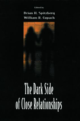 The Dark Side of Close Relationships (Paperback) book cover