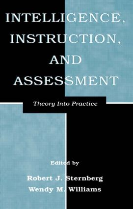 Intelligence, Instruction, and Assessment: Theory Into Practice book cover