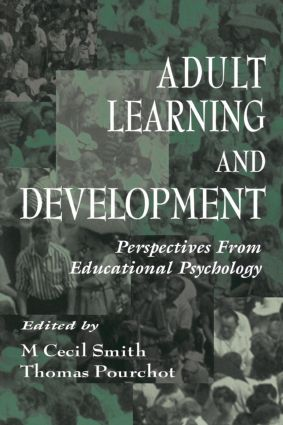 Adult Learning and Development: Perspectives From Educational Psychology book cover