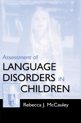 Assessment of Language Disorders in Children (Paperback) book cover