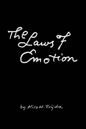 The Laws of Emotion (Paperback) book cover