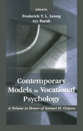 Contemporary Models in Vocational Psychology: A Volume in Honor of Samuel H. Osipow book cover