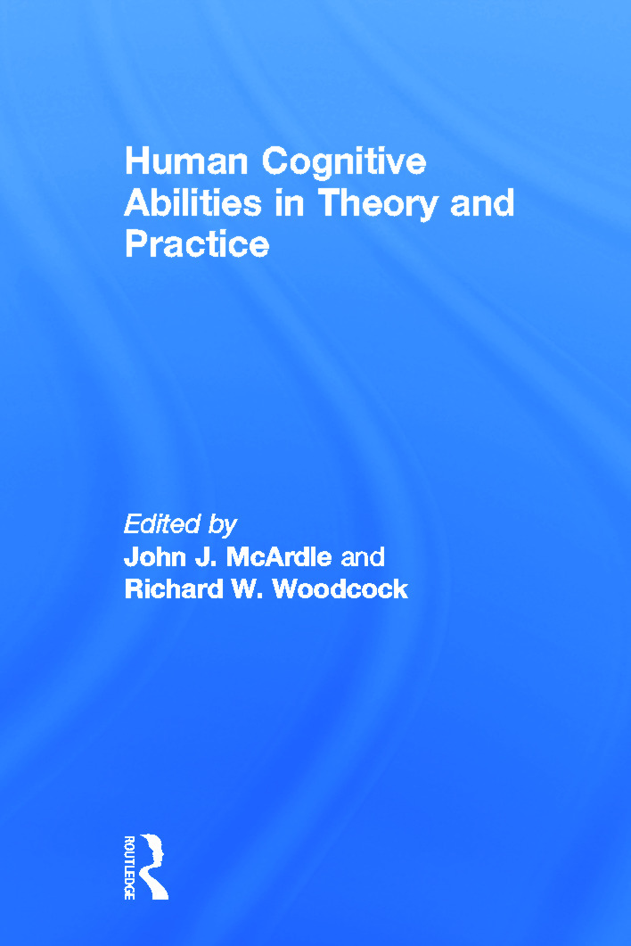 Human Cognitive Abilities in Theory and Practice (Hardback) book cover