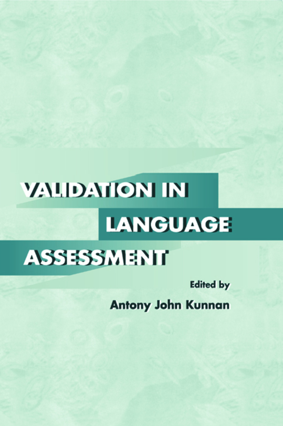 Validation in Language Assessment (Paperback) book cover