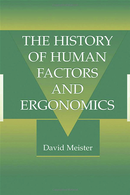 The History of Human Factors and Ergonomics (Paperback) book cover