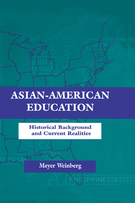 Asian-american Education: Historical Background and Current Realities (Paperback) book cover