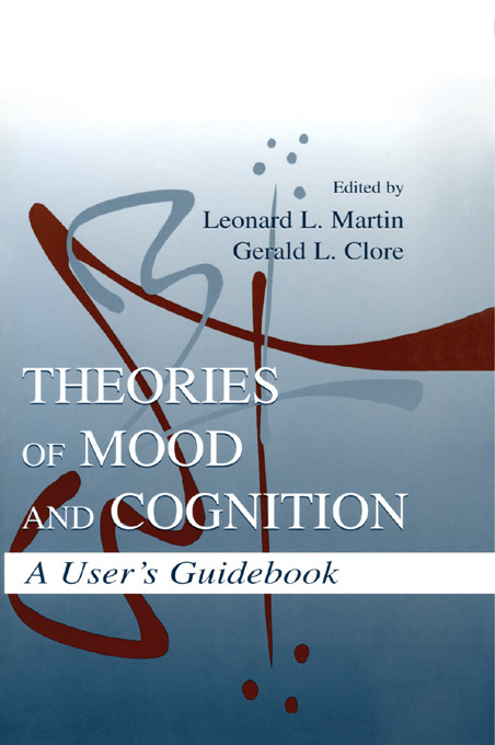 Theories of Mood and Cognition: A User's Guidebook (Paperback) book cover