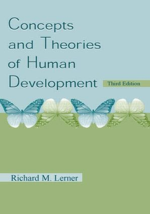 Concepts and Theories of Human Development: 3rd Edition (Hardback) book cover