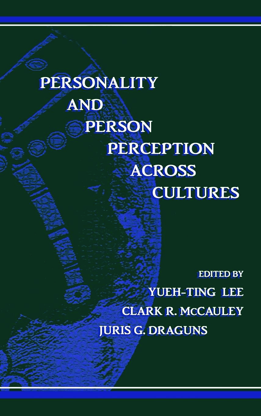 Personality and Person Perception Across Cultures (Hardback) book cover