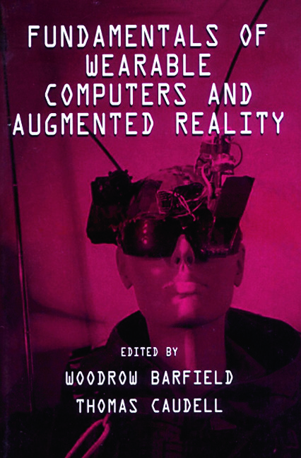 Fundamentals of Wearable Computers and Augmented Reality: 1st Edition (Paperback) book cover
