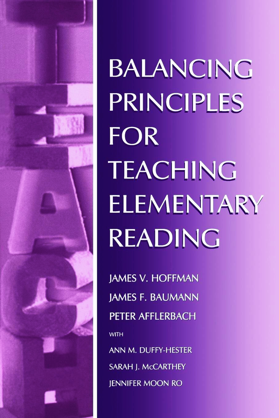 Balancing Principles for Teaching Elementary Reading (Paperback) book cover