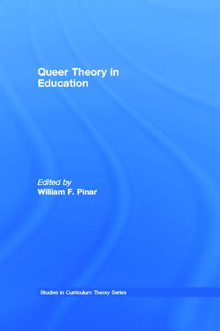 Queer Theory in Education (Paperback) book cover