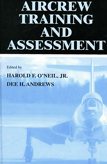 Aircrew Training and Assessment (Hardback) book cover