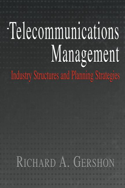 Telecommunications Management book cover