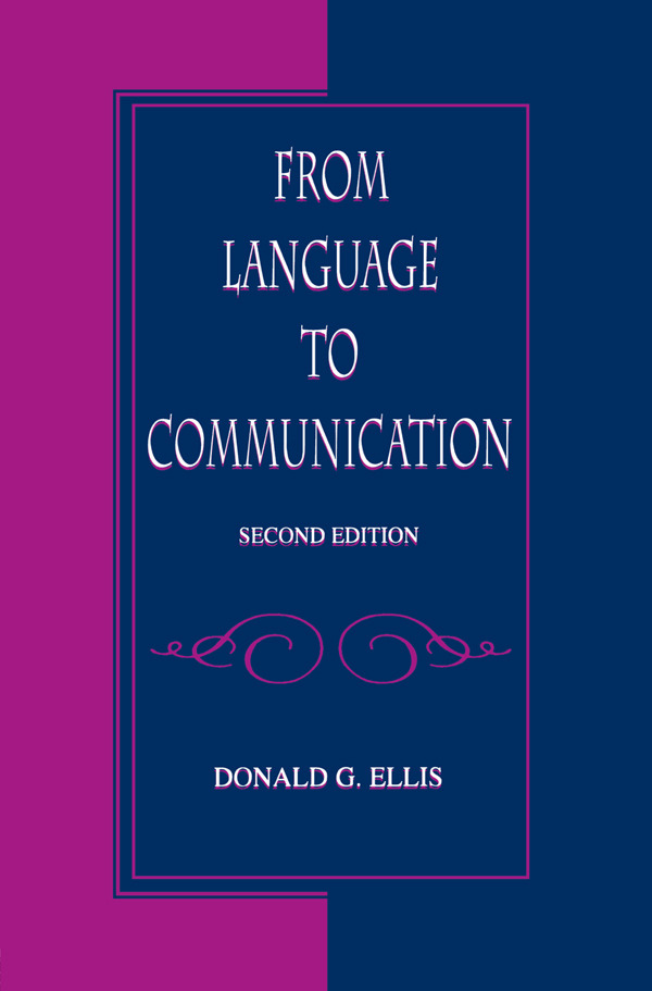 From Language To Communication: 2nd Edition (Paperback) book cover