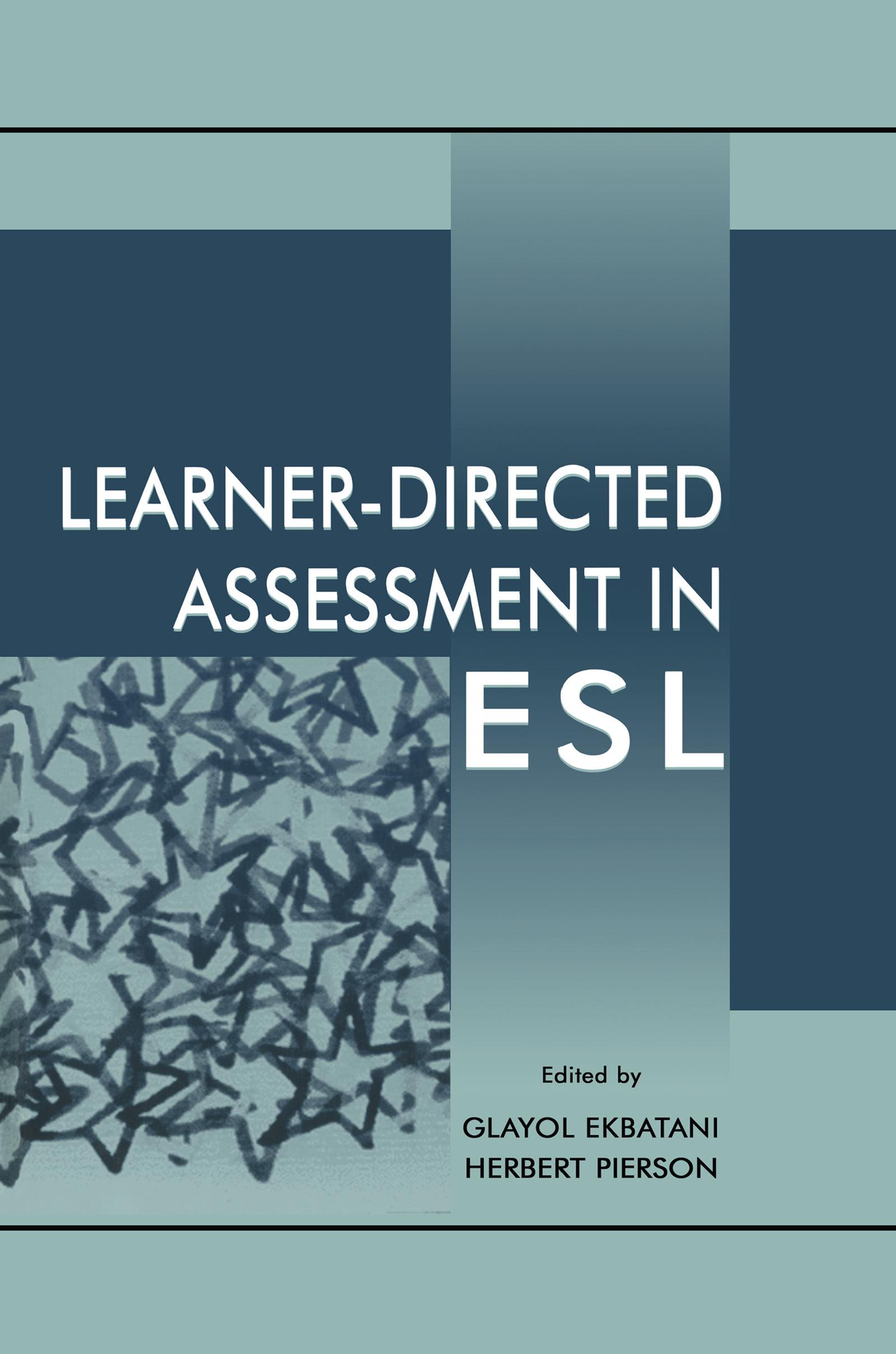 Learner-directed Assessment in Esl (Paperback) book cover