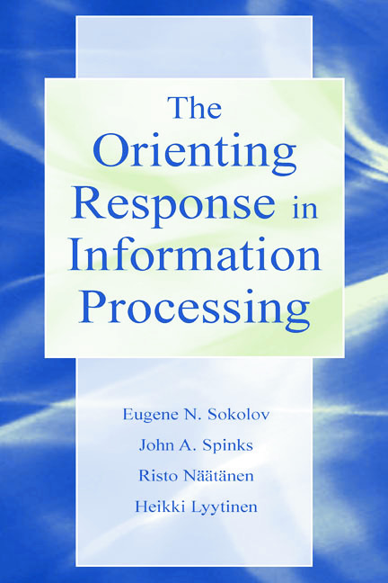 The Orienting Response in Information Processing (Hardback) book cover