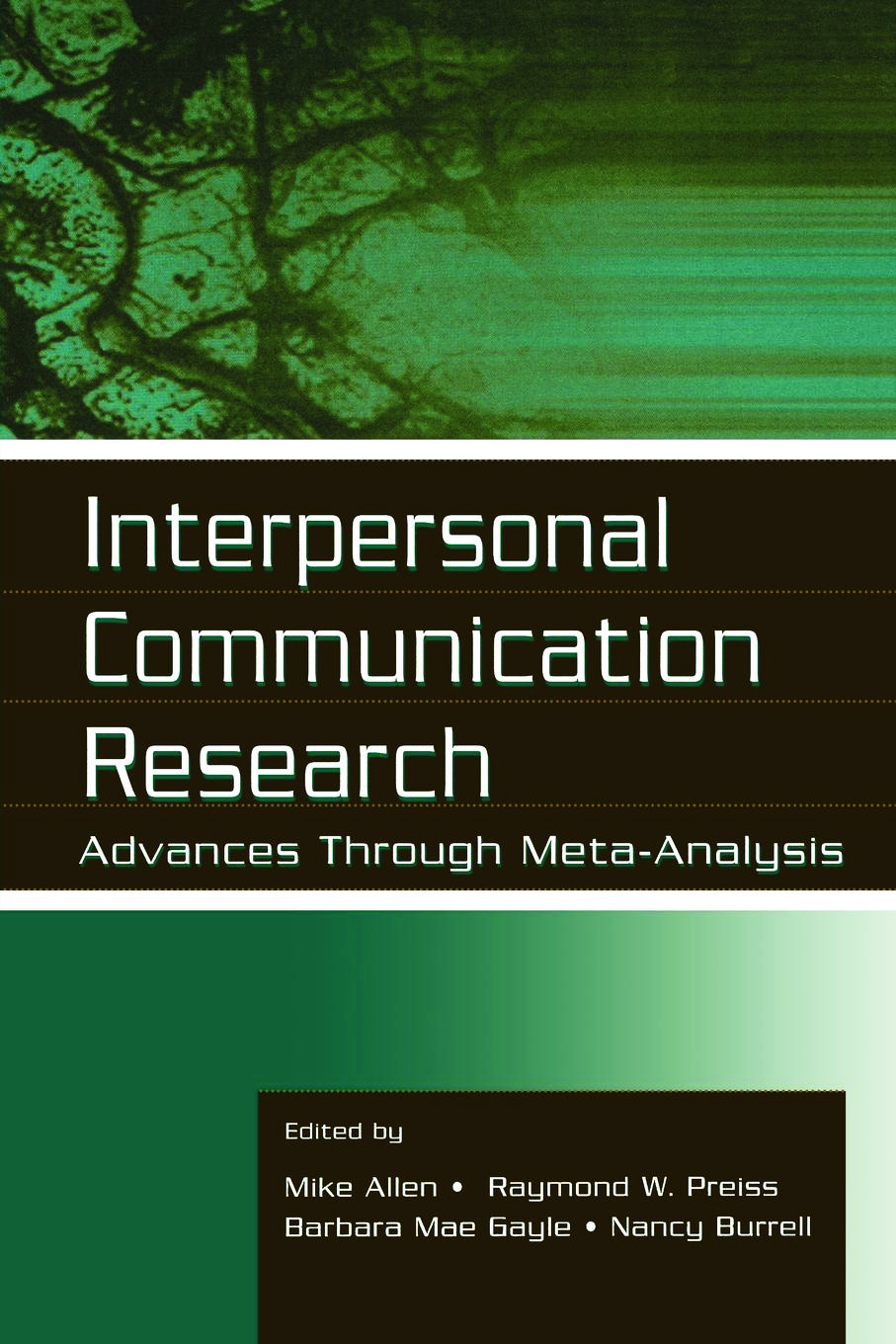 Interpersonal Communication Research