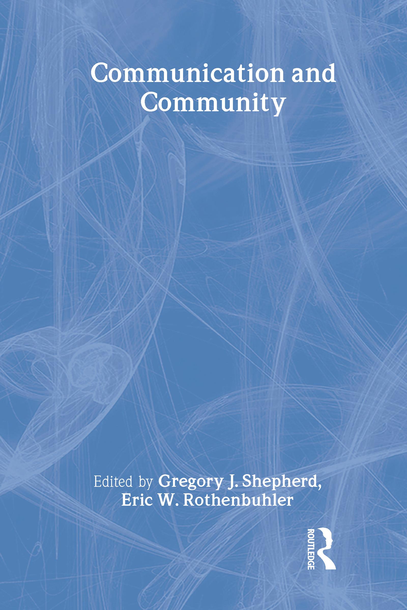 Communication and Community