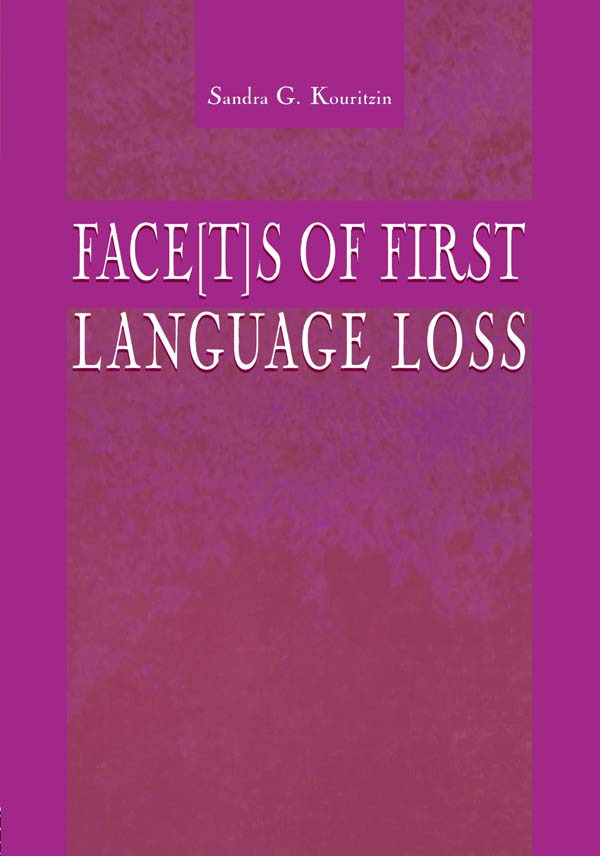 Face[t]s of First Language Loss (Paperback) book cover