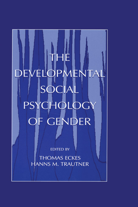 The Developmental Social Psychology of Gender: 1st Edition (Paperback) book cover