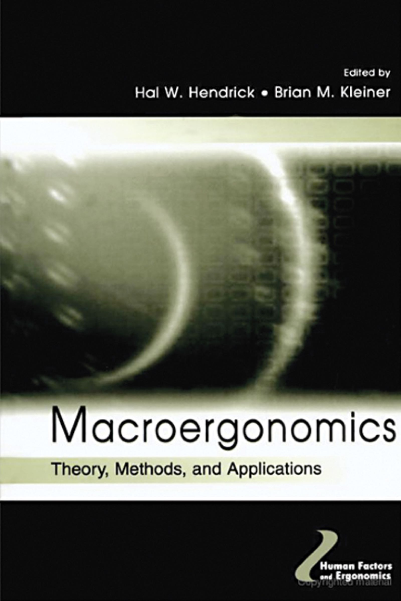 Macroergonomics: Theory, Methods, and Applications book cover