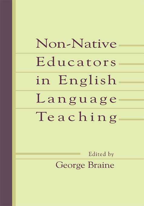 Non-native Educators in English Language Teaching