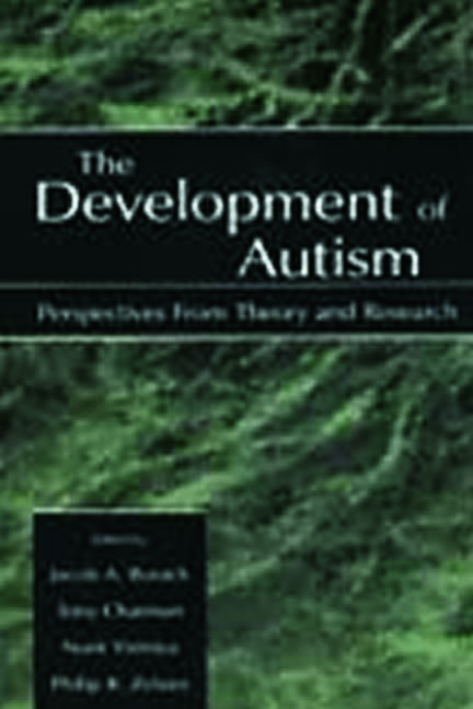 The Development of Autism: Perspectives From Theory and Research (Hardback) book cover