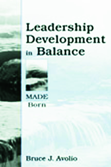Leadership Development in Balance: MADE/Born, 1st Edition (Paperback) book cover