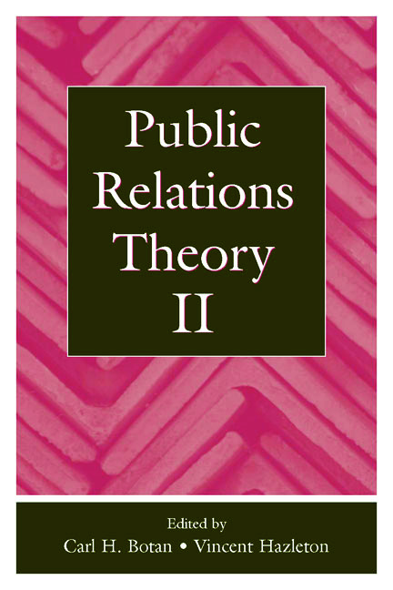 Public Relations Theory II (Hardback) book cover