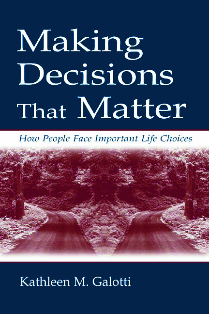 Making Decisions That Matter